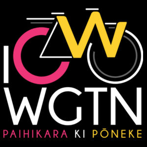 I Cycle WGTN - Womens Wafer T shirt  Design