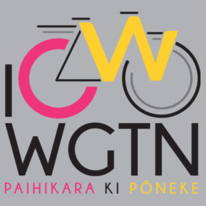 I Cycle WGTN - Kids Youth T shirt Design