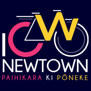 I Cycle Newtown - Womens Wafer T shirt  Design