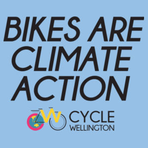 Bikes are climate action - Kids Youth T shirt Design