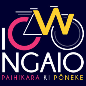 I Cycle Ngaio - Womens Wafer T shirt  Design