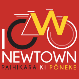 I Cycle Newtown - Mens Staple T shirt Design