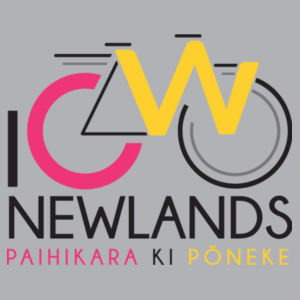 I Cycle Newlands - Womens Wafer T shirt  Design