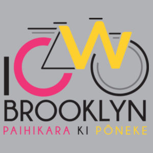 I Cycle Brooklyn - Womens Wafer T shirt  Design