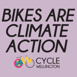 Bikes are climate action Design