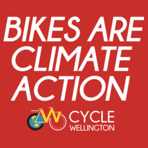 Bikes are Climate Action - Mens Staple T shirt Design