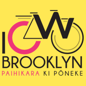 I Cycle Brooklyn - Womens Maple Tee Design