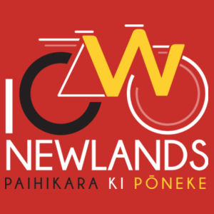I Cycle Newlands - Womens Maple Tee Design