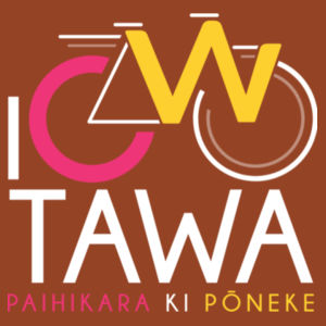 I Cycle Tawa - Womens Maple Tee Design